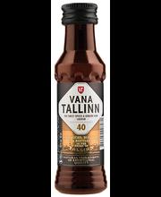 Vana Tallinn liköör 40% 40ml