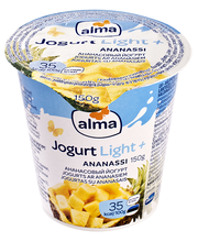 Light+  ananassijogurt, 125 g