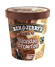 Jäätis Blondie Brownie, 500 ml