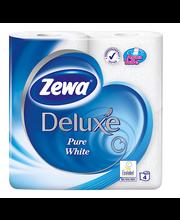 Tualettpaber Deluxe 4 rulli 3-kihiline, Pure White
