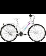 "Laste jalgratas 24"" Solaris 3 käiku 36 cm, valge"