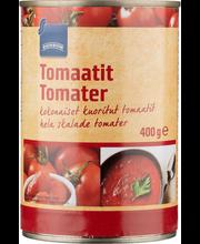 Kooritud tomatid 400/240 g