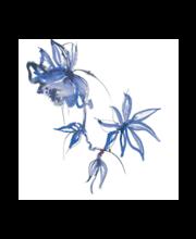 Salvrätik 33 cm 20tk blue velvet