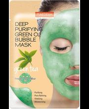 Näomask Deep Purifying green o2 bubble