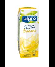 Banaanimaitseline sojajook, 250 ml
