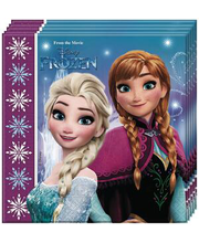 Salvrätikud Frozen 33cm, 20tk