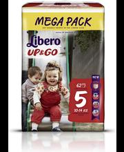 Libero püksmähkmed Up&Go 5 Mega Pack, 10-14 kg, 62 tk