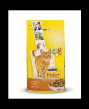 Friskies Adult täissööt kassidele kana ja köögiviljadega, 4 kg