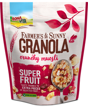 Krõbe müsli puuviljadega Granola 500 g