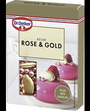 Dr. Oetker Rose & Gold Décor kaunistusdražeed 42 g