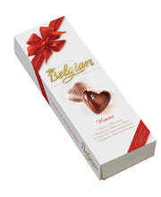 Belgian Hearts pralineekreemiga kompvekid Südamed 65 g