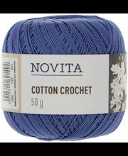 Lõng Cotton Crochet 50 g 149 sinilill