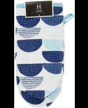 a59d3685259 Pajakinnas noa sinine 15x30 cm, 100% puuvill