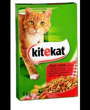 Kuivtoit täiskasvanud kassidele härjaliha ja köögiviljaga 1 kg