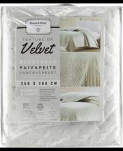 Päevatekk Velvet 260x260 cm, hall