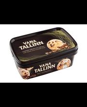 Vana Tallinn kohvi-koorejäätis likööri ja šokolaaditükkidega,...
