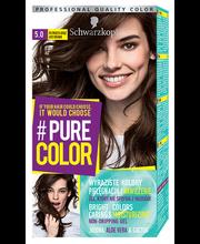 Juuksevärv pure color 5.0 pruun