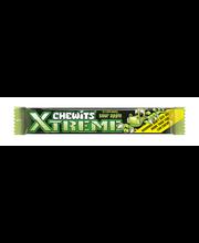 Chewits Xtreme hapu õuna maitselised närimiskompvekid 30 g