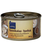 Tuunikala karri-majoneesikastmes 185 g