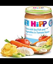 Hipp pasta-kala-juurviljapüree tomatikastmes 220 g, alates 12-elukuust
