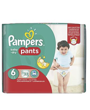 Pampers püksmähkmed Baby Dry Pants 6, 15+ kg, 32 tk