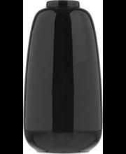 Vaas 23 cm, must keraamika