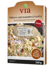 Peekoni- parmesanirisoto 320 g