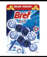Bref Power Wc seep Blue Chlorine 2x50g