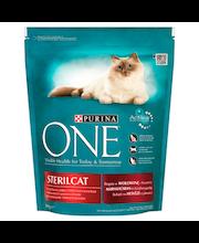 Täissööt steriliseeritud kassidele, veiseliha ja nisuga 800 g