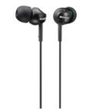 Kõrvaklapid MDR-EX110LPB In-Ear, must