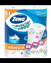 Zewa Majapidamispaber Wisch&Weg Design 2 rulli