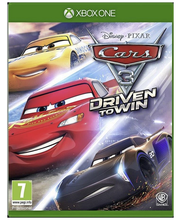 Xbox One mäng Cars 3: Driven to Win