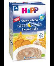 Hipp head ööd banaani-kuiviku piimapudrupulber 250 g, öko, alates 4-elukuust