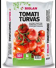 Tomatiturvas 50 l, väetatud ja lubjatud kasvuturvas