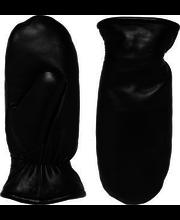 Naiste nahkkindad mustad, 7,5