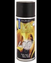Silikoonvärv kuumakindel 400°C 400ml must