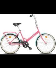 """Jalgratas Helkama Jopo 24"""" roosa/sinine"""