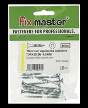 Fixmaster universaalkruvi, peitpea, TX25 ZN, 4,5 x 60 mm, 10 tk