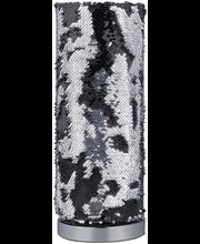 Lauavalgusti Pail 40 cm, must/hõbedane