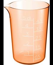 Mõõtekann 0,5 l oranz