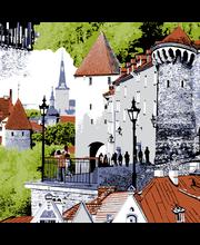 Lauamatt Tallinn 37 X 37 cm