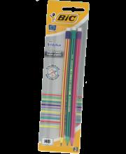 Harilik pliiats kummiga Evolution HB 3 tk