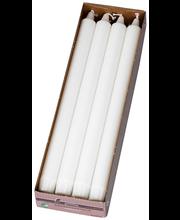 Kroonküünal 8tk 30cm valge pikk