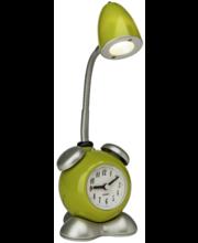 Lauavalgusti kellaga  Pharrell roheline