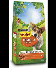 Täissööt koertele kanaliha ja köögiviljaga, 1,5 kg