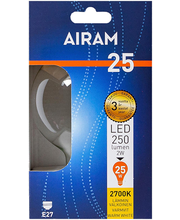 LED-lamp Globe-95 2W E27 2700K 250LM