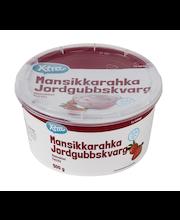 Maasikakohupiim, rasvatu