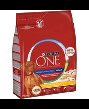 Täissööt koertele kana ja riisiga 2,5 kg