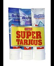 Hambapasta Max Fresh/Actic 3x75 ml