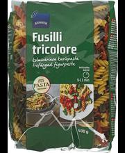 Pasta Fusilli kolmevärvilised 500 g